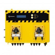 Система перистальтических доз.насосов AquaViva PH+RX 1,5л/ч + Измерительный набор, 2шт фото