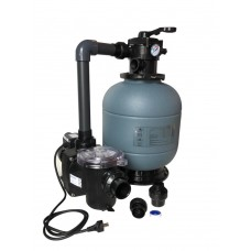 Комплект фильтра D400 производительностью 6 м3 / ч с насосом Freeflo, 0.37 квт, (с подставкой) фото
