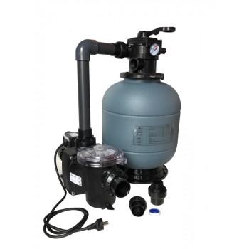 Комплект фильтра D600 производительностью 14 м3 / ч с насосом Freeflo, 0.75 квт