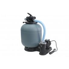 Фильтрационная система Samoa D300 + 1,25″ верхний 5-ти ходовой клапан + насос Fiji 4м³/час