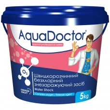 Дезинфектант на основе активного кислорода AquaDoctor Water Shock О2   (5 кг.)