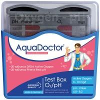 Тестер AquaDoctor Test Box O2/pH