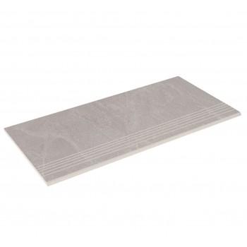 Бортовая плитка прямая Aquaviva Ardesia Gray 595x289x20 мм
