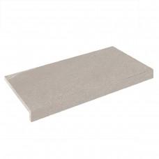 Бортовая плитка Aquaviva Montagna Gray Г-образная, 595x345x50(20) мм