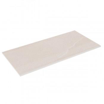 Бортовая плитка прямая Aquaviva Montagna Light Gray 595x289x20 мм