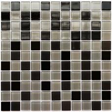 Мозаика Котто GM 4008 C3 black/gray m/gray w 30x30