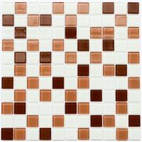 Мозаика Котто GM 4037 C3 brown m/brown w/white 30x30