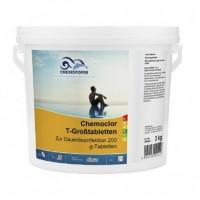 Хлор длительного действия Chemoform Chemochlor-T-Grosstabletten 3 кг (табл. 200 г)