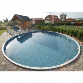 Бассейн сборный, круглый MILANO (3,00 x 1,2м, пленка 0,6 мм)