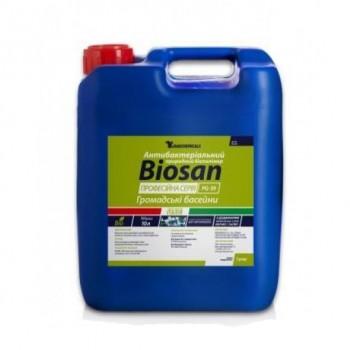 Средство против водорослей Barchemicals BioSan, 10 л (жидкий)