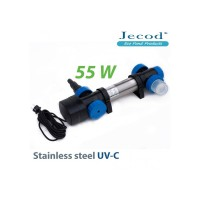 УФ стерилизатор для пруда STU-55 в корпусе с нержавеющей стали