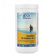 Бесхлорная дезинфекция Chemoform Aquablanc O2 Sauerstofftabletten 1 кг. (табл. 20 г) фото