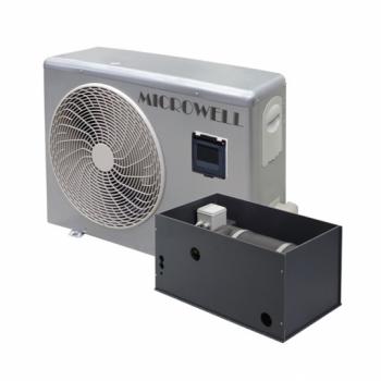 Тепловой насос Microwell HP1500 Split Premium, 40 m3