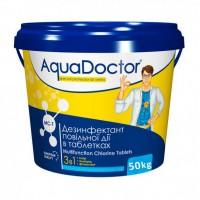 Средство 3 в 1 по уходу за водой AquaDoctor MC-T 50кг (табл. по 200гр)