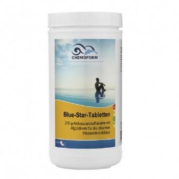Бесхлорная дезинфекция Chemoform Blue Star 1 кг. (табл.200 г +100 г)