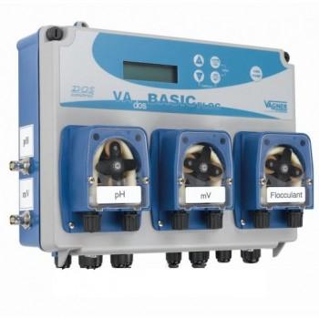 Станция дозирования Seko Pool Kommander EVO pH/Rx/Floc (с тремя насосами, с функцией управления фильтрацией и нагревом)