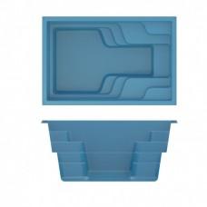 БАССЕЙН COMPASS POOLS X-TRAINER 58 - 5,78 X 3,44 X 1,13-1,52 м (В комплекте с необходимым оборудованием)