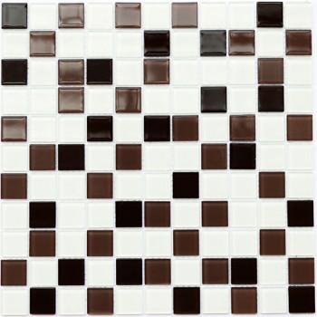 Мозаика Котто GM 4011 C3 coffee d/coffee m/white 30x30