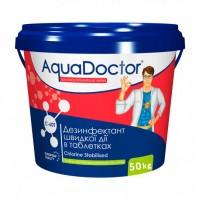 Хлор шокового действия AquaDoctor C-60T 50кг (табл. 20гр)