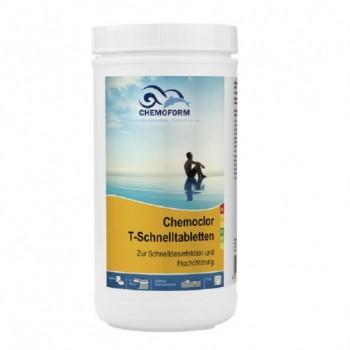 Хлор шокового действия Chemoform Chemochlor-T-Schnelltabletten 1 кг (табл. 20 г)