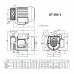 Компрессор HPE DT 404-1, 70 л/мин  фото 1