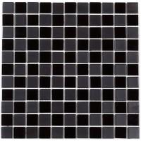 Мозаика Котто GM 4057 CС Вlack  mat/black 30x30