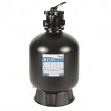 Песочный фильтр Pentair AZUR 560 мм, 12 м3/ч 6-ходовой верхний клапан, 140 кг песка