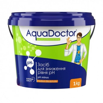 Регулятор pH AquaDoctor pH Minus 1 кг (гранулы)