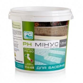 Регулятор pH Barchemicals pH минус 1,5 кг (гранулы)