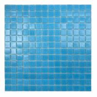 Мозаика стеклянная Aquaviva голубая