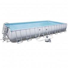 Каркасный бассейн Bestway 56623 (956х488х132) с песочным фильтром