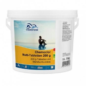 Хлор длительного действия Chemoform Multitab 5 кг. (табл. 200г)
