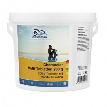Хлор длительного действия Chemoform Multitab 3 кг. (табл. 200г)
