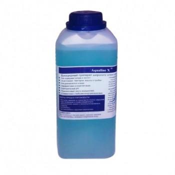 Дезинфекция 3 в 1 Aqualine X 1 л. (жидкий)