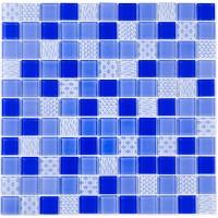Мозаика Котто GM 4052 C3 Cobalt m/Cobalt w/Structure 30х30