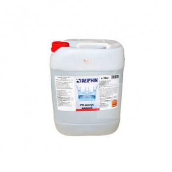 Регулятор pH Delphin рН-Минус 25кг (жидкий)