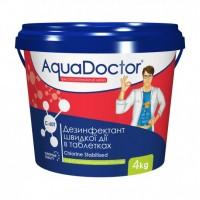 Хлор шокового действия Aquadoctor C-60T 4 кг (таблетки)