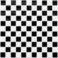 Мозаика Котто GM 4002 CС black/white 30x30 фото
