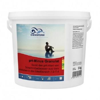Регулятор pH Chemoform pH-Regulator Minus 5 кг (гранулы)