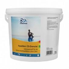 Бесхлорная дезинфекция Chemoform Aquablanc O2 Sauerstoffgranulat 3кг (гранулы)  фото