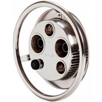 Закладной элемент с лицевой панелью противотечения Pahlen Jet Swim 2000 (бронза + нержавеющая сталь)