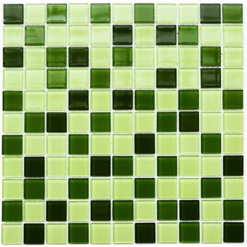 Мозаика Котто GM 4029 C3 green d/green m/green w 30x30