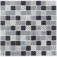 Мозаика Котто GM 4053 C3 Gray m/Gray w/Structure 30x30