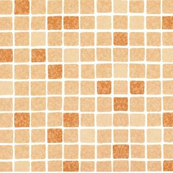 Пленка ПВХ Elbeblue Mosaic sand (1123/02 мозаика терракота), ширина 1,65 м