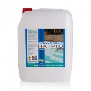Хлор длительного действия PG GXN-74 25 л (жидкий)