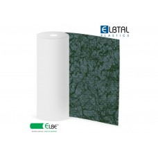 Плёнка ПВХ Exclusive Natural PEARL (Жемчужина), цвет: темно-зеленый (578), армированная, толщина 1.5мм, ширина 1.65м, длина рулона 25м фото