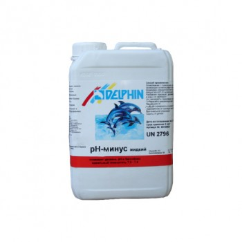 Регулятор pH Delphin рН-Минус 3л (жидкий)