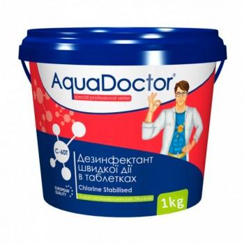 Хлор шокового действия Aquadoctor C-60T 1 кг (таблетки)