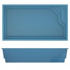 Бассейн Compass Pools Briliant 66 - 6,62 x 3,66 x 1,4 м (В комплекте с необходимым оборудованием)