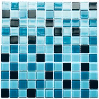 Мозаика Котто GM 4020 C3 cerulean d/cerulean m/cerulean w 30x30